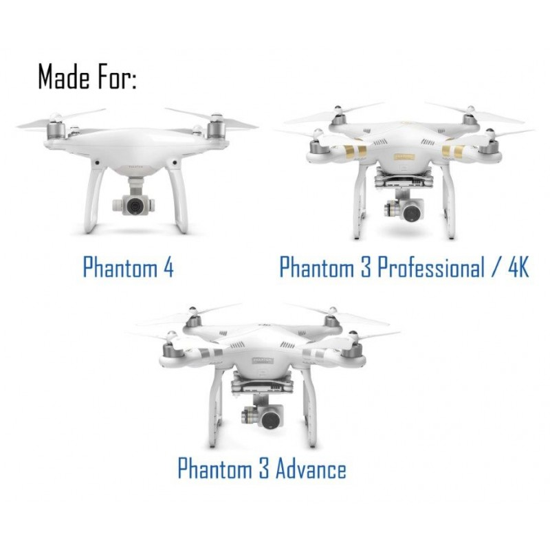 Iberdon Pack 4 Filtros DJI Phantom 3 y 4