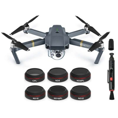 Iberdron Pack 6 filtros DJI Mavic Pro