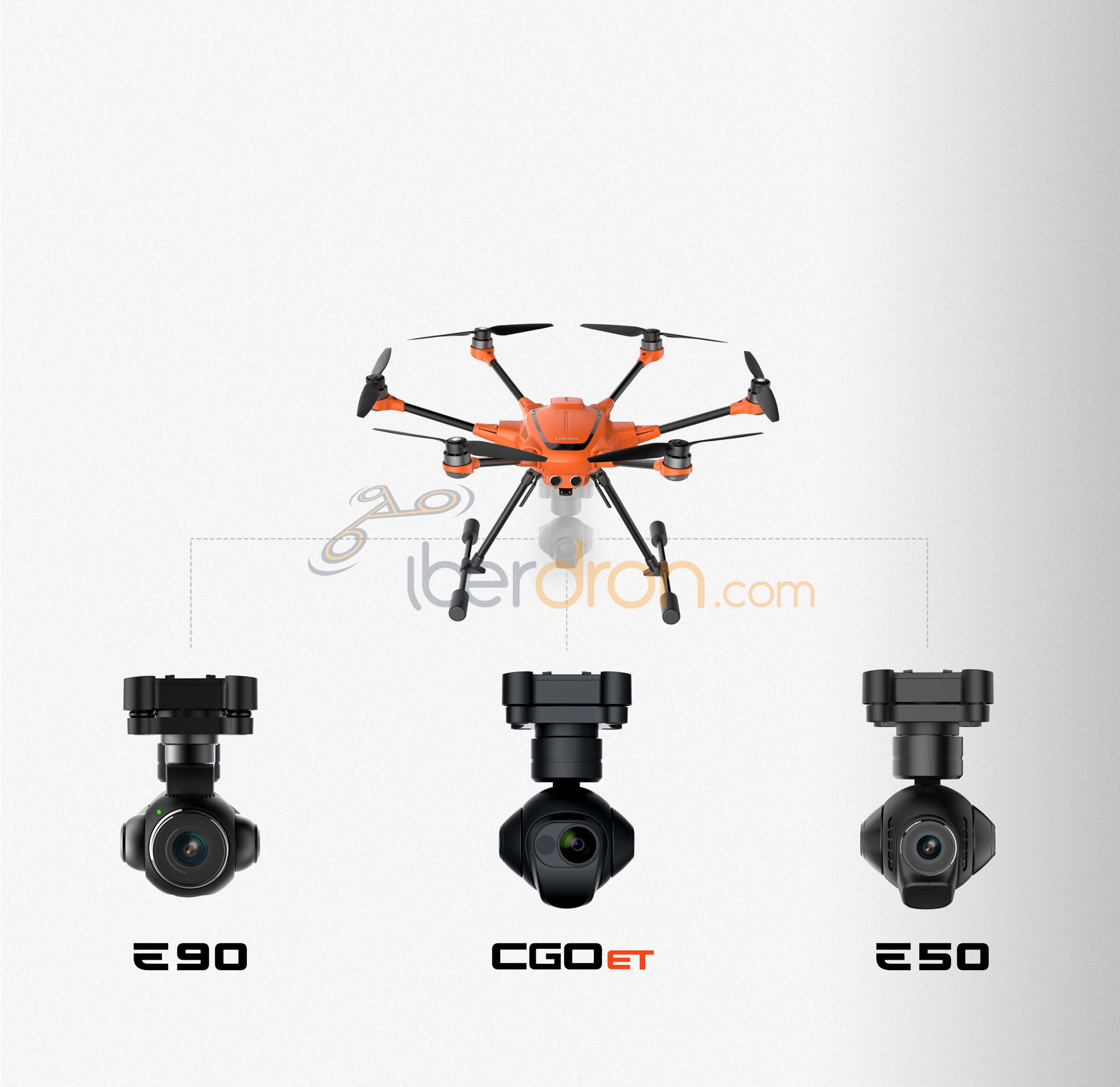 Iberdron Yuneec H520 e90 e50 CGO-ET