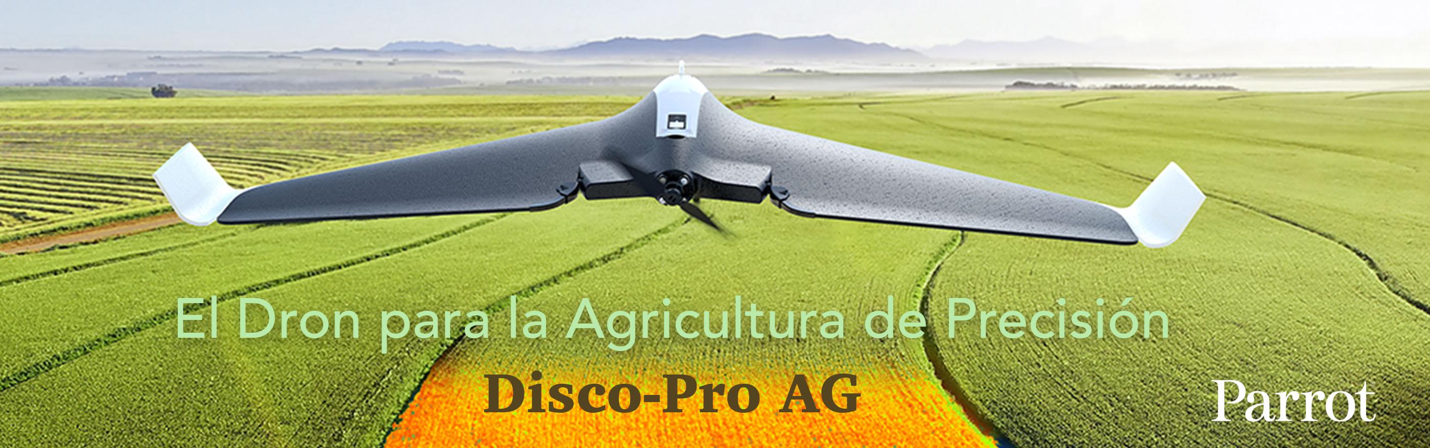 Parrot Disco-R AG el Dron para la agricultura de Precisión