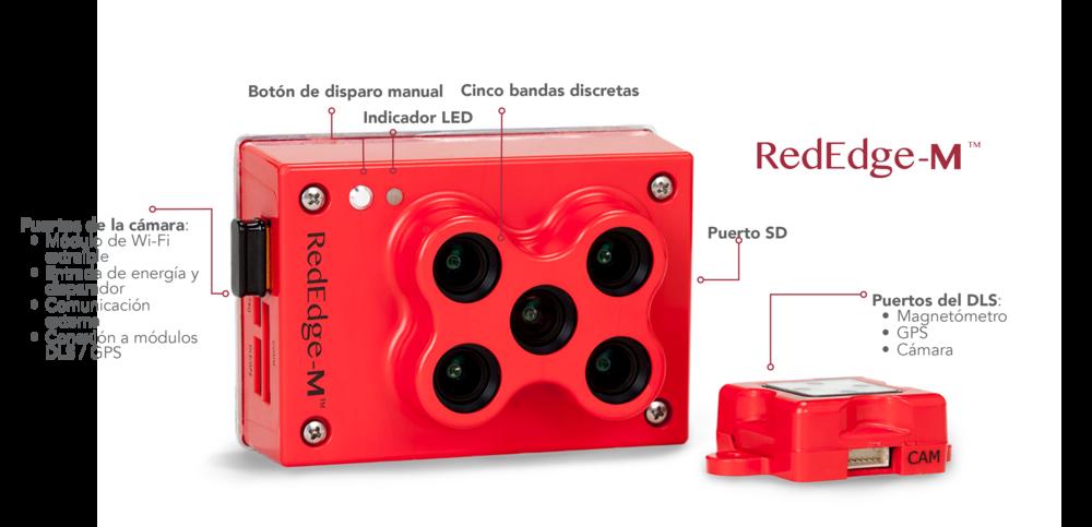 Iberdron sensor multiespectral Micasense RedEdge-M