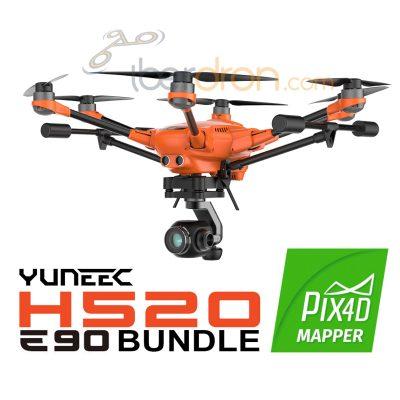 Iberdron Yuneec Fotogrametría H520 Pix4D E90