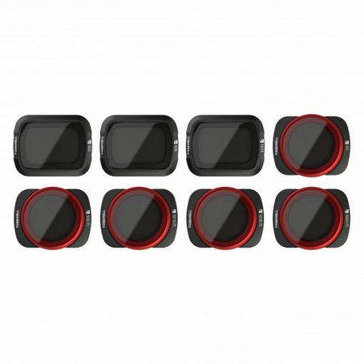 Iberdron Pack 8 filtros para el dji osmo pocket all day de Freewell